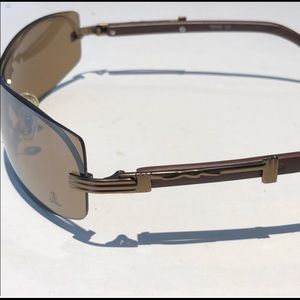 a009c069b2c Cartier wooden frame sunglasses made in France